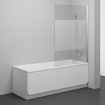 Shower enclosures and bathtub screens for atypical situation