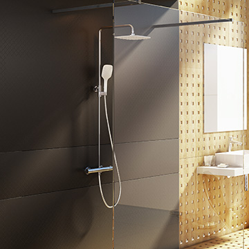 Dual shower systems