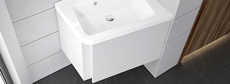 Bathroom furniture 10°