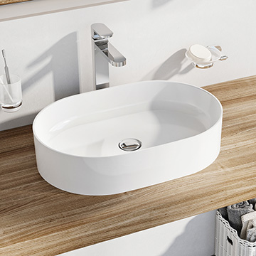 Ceramic Slim ceramic washbasins