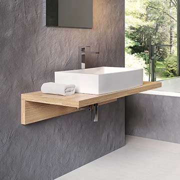 Tables for washbasins