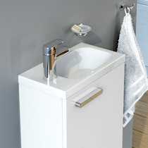 Chrome 400 small washbasin