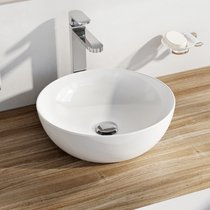 Ceramic washbasin UNI 400 B SLIM