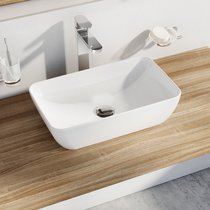 UNI 500 R SLIM ceramic washbasin